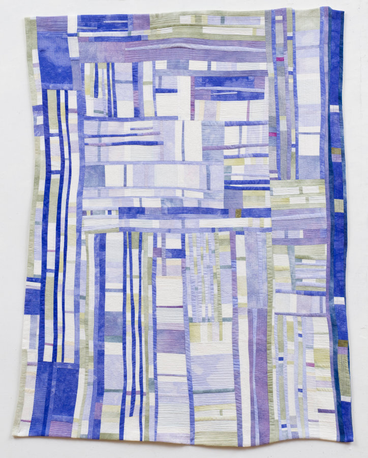 modern abstract quilt by Beth Carney