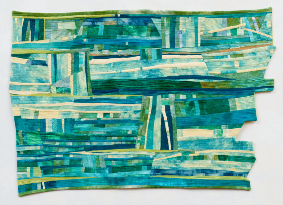 fiber art by Beth Carney