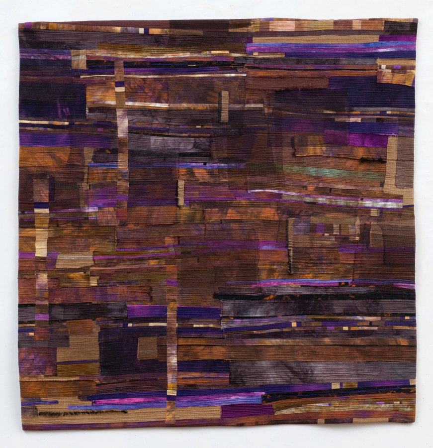 abstract art quilt by Beth Carney