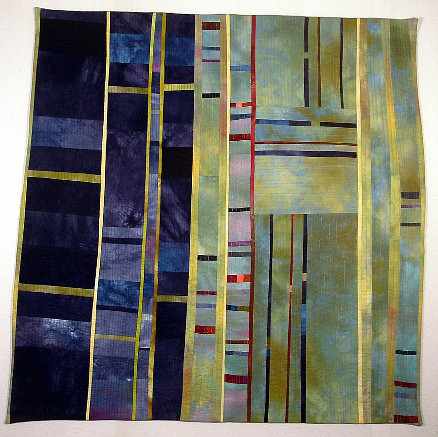 abstract quilt by Beth Carney